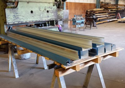 Architectural Metal Roofing Coping
