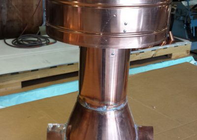 Copper Vent - After