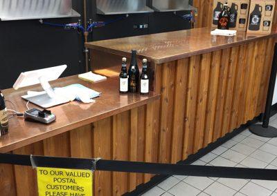Custom Copper Bar Counter