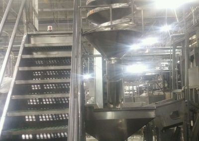 Custom Stainless Steel Chute