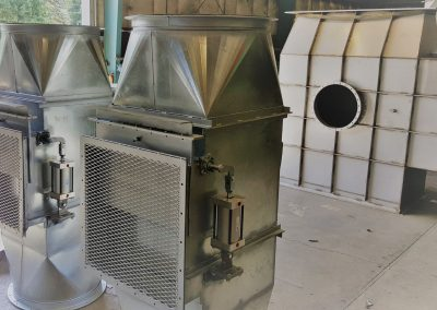 Industrial Galvanized Dampers
